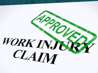 """Work Injury Claim Approved"" Image"