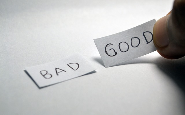 Good vs Bad Comparison